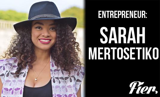 sarah mertosetiko une entrepreneuse guyanaise a qui tout r ussi fier d 39 tre guyanais fier. Black Bedroom Furniture Sets. Home Design Ideas